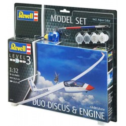Model Set Gliderplane DUO DISCUS (1/32)