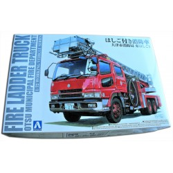FIRE LADDER TRUCK (1/72)