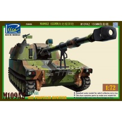 M109A2 155MM Self-Propelled Howitzer (1/72)