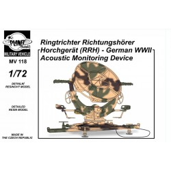 1/72 Ringtrichter Richtungshörer Horchgerät (RRH) – German WW2 Acoustic Monitoring Device