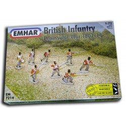 1/72 British Infantry - Peninsular War