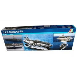 1/720 USS Nimitz CV-68 aircraft carrier