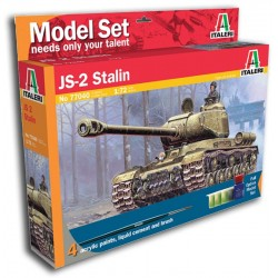 1/72 JS-2 STALIN (model set with paints)