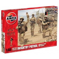 1/48 British Forces Infantry Patrol