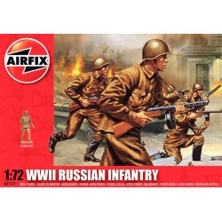 1/72 WWII Russian Infantry