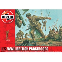 1/72 WWII British Paratroops