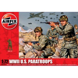 1/72 WWII U.S. Paratroops