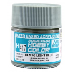 Mr. Hobby H417 RLM76 Light blue Semi-Gloss (10ml)