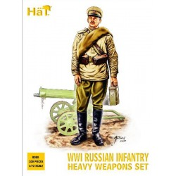 1/72 WWI Russian Infantry Heavy Weapons set
