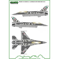 1/48 POLAND F-16C Block 52+ Jastrzab NATO Tiger Meet 2014