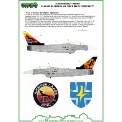 "Eurofighter Typhoon 10 Years in German Air Force TLG 73 ""Steinhoff"" (1/48)"