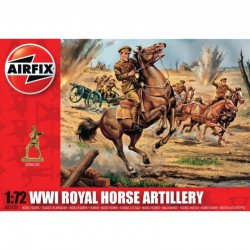 1/72 WW1 Royal Horse Artillery