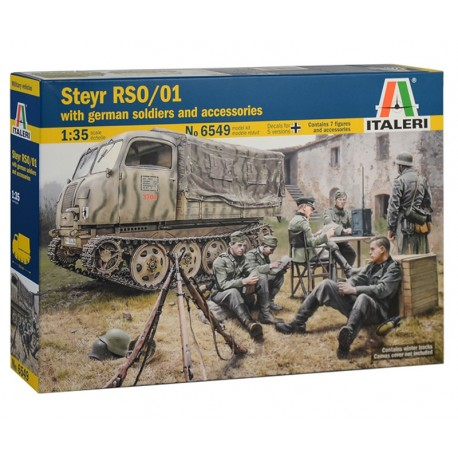 1/35 STEYR RSO/01 with GERMAN SOLDIERS