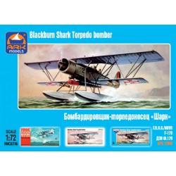 "Blackburn ""Shark"" British torpedo bomber (1/72)"