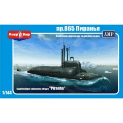 1/144 Soviet Midget submarine of type Piranha