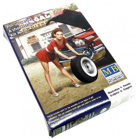 Pin-up series - A short stop - Kit Nº 3 (1/24)