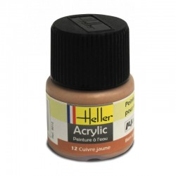 Heller Satin Brass paint (12ml)