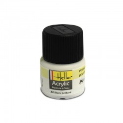 Heller Black Gloss paint (12ml)