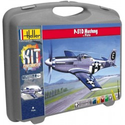1/72 P-51D MUSTANG + PISTE (case with accessories)
