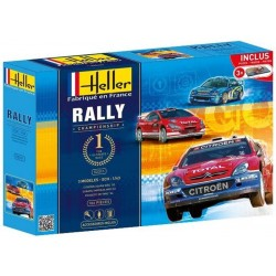 1/43 RALLY CHAMPIONSHIP (3 kits w/ accessories)