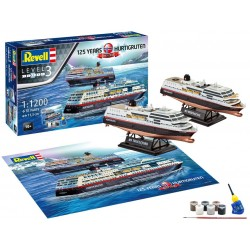 1/1200 HURTIGRUTEN 125th Anniversary