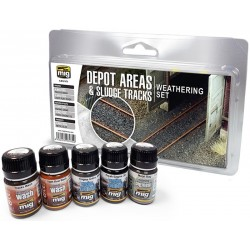 DEPOT AREAS - SLUDGE TRACKS WEATHERING SET