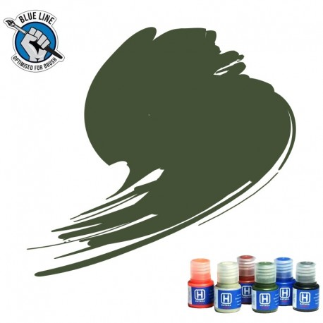 BLUE LINE Medium Green paint (FS34102) 10ml