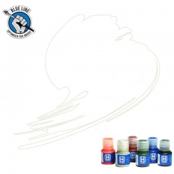 BLUE LINE Traffic White paint (FS37925, RAL 9016) 10ml
