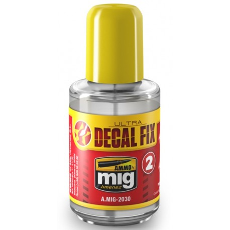 AMMO MiG ULTRA DECAL - FIX (30ml)