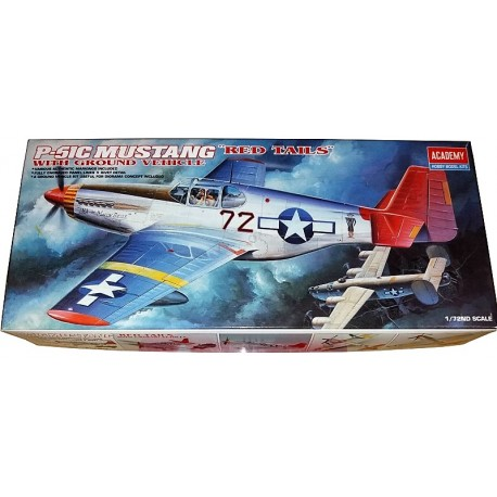 P-51C MUSTANG RED TAILS (1/72)