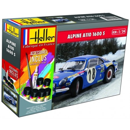 1/24 ALPINE A110 1600 S (with accessoires)
