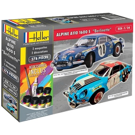 "1/24 ALPINE A110 1600 S ""Berlinette"" (with accessoires)"