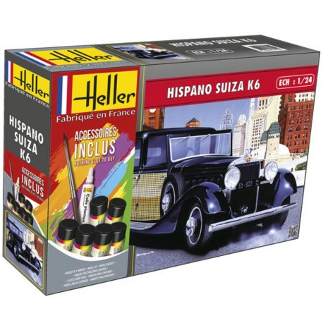 1/24 HISPANO SUIZA K6 (with accessories)