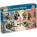 1/72 FREE FRENCH INFANTRY