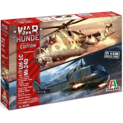 1/72 WAR THUNDER - UH-1C & MI-24D