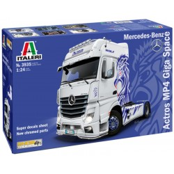 1/24 Mercedes-Benz ACTROS MP4 Giga Space