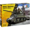 M4A1 SHERMAN with U.S. infantry (1/35)
