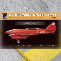 De Havilland DH-88 Comet 'Red & Green'