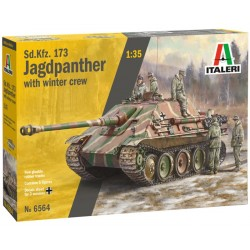 1/35 Sd.Kfz.173 JAGDPANTHER with winter crew