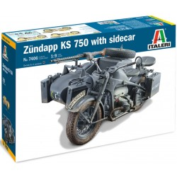 1/9 ZUNDAPP KS 750 with Sidecar