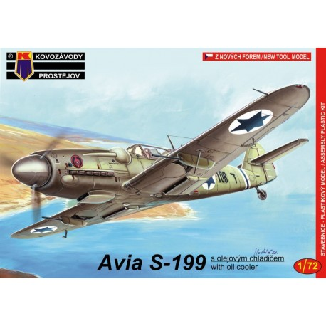 1/72 Avia S-199 w/oil cooler