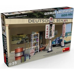 German Gas Station 1930-40s (1/35)
