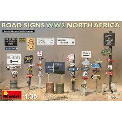 1/35 ROAD SIGNS WW2 NORTH AFRICA