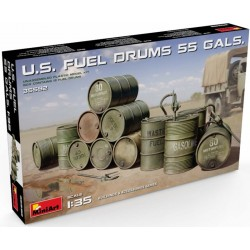 U.S. FUEL DRUMS 55 GALS. (1/35)