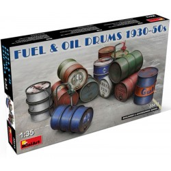 1/35 FUEL & OIL DRUMS