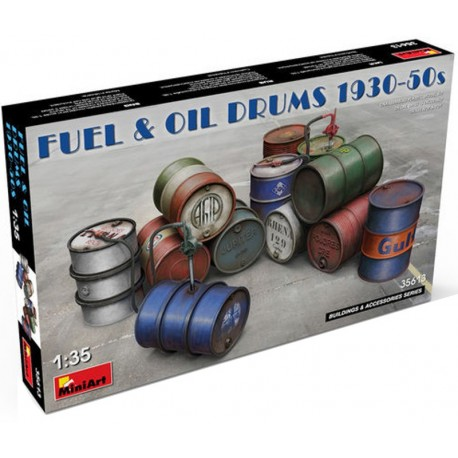 FUEL & OIL DRUMS (1/35)