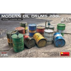MODERN OIL DRUMS 200L (1/35)