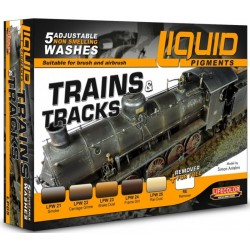 Liquid Pigments Trains & Tracks