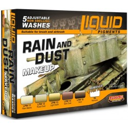 Liquid Pigments Raind and Dust MAKE UP