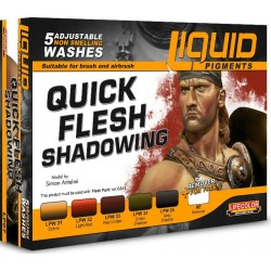 Liquid Pigments Quick Flesh Shadowing